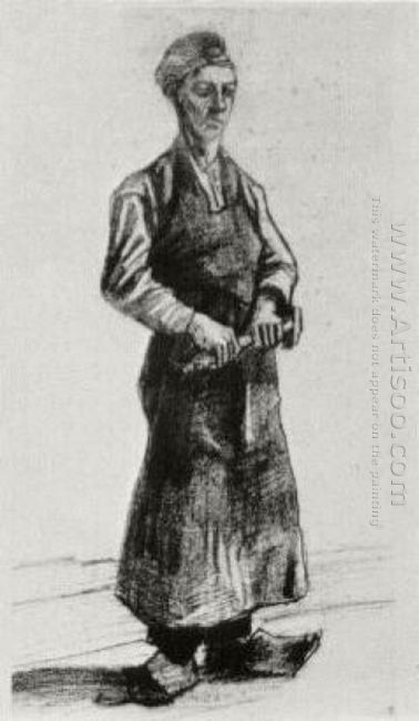 A Carpenter With Apron 1882