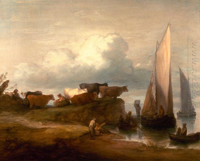 A Coastal Landscape 1782