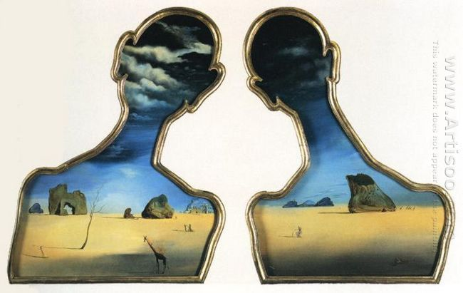 A Couple With Their Heads Full Of Clouds