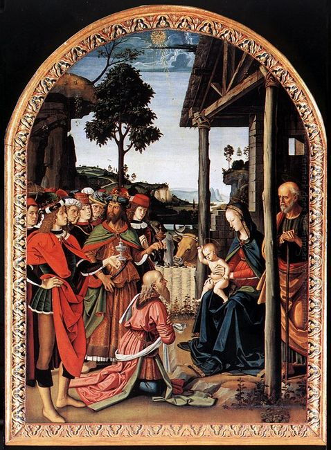 Adoration Of The Kings Epiphany