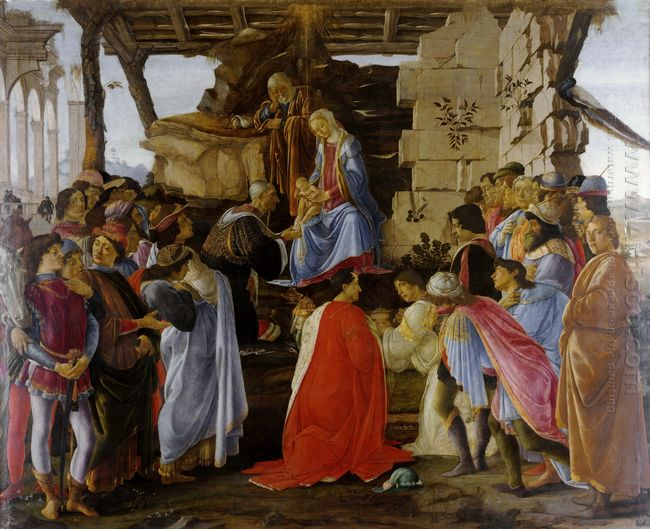 Adoration Of The Magi 1476 1