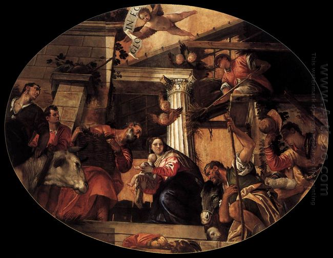 Adoration Of The Shepherds 1558