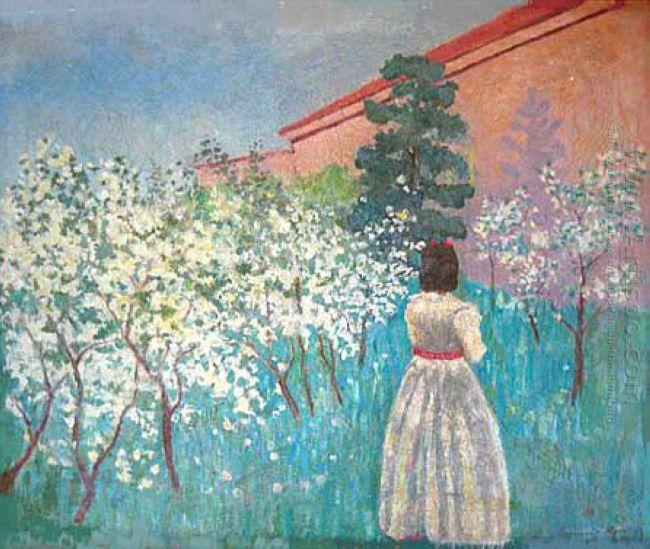 A Garden In Blossom