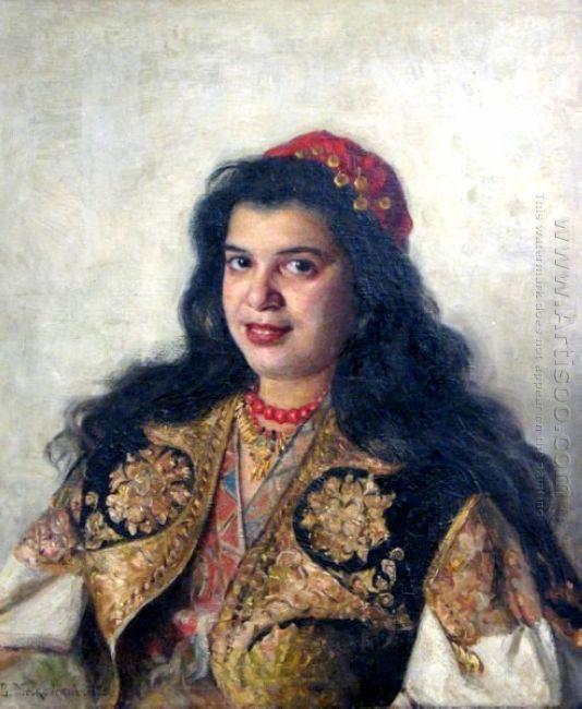 A Gypsy Lady 1875