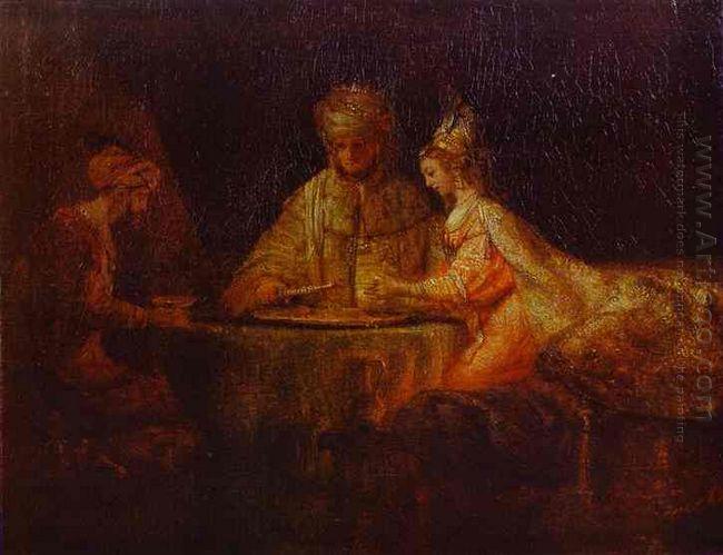 Ahasuerus Xerxes Haman And Esther