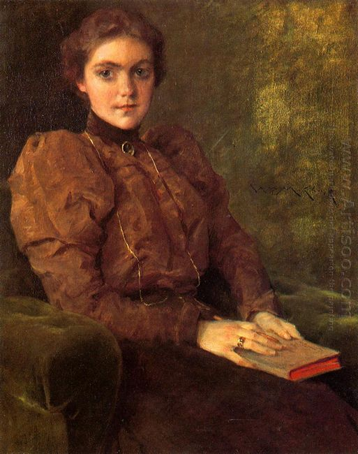 A Lady In Brown