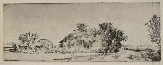 A Landscape Of Irregular Form 1652