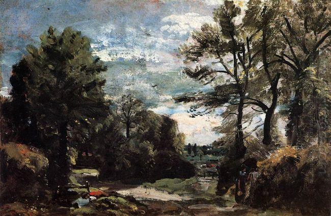 A Lane Near Flatford 1811