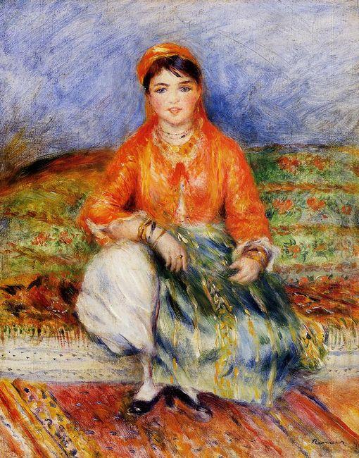 Algerian Girl 1881