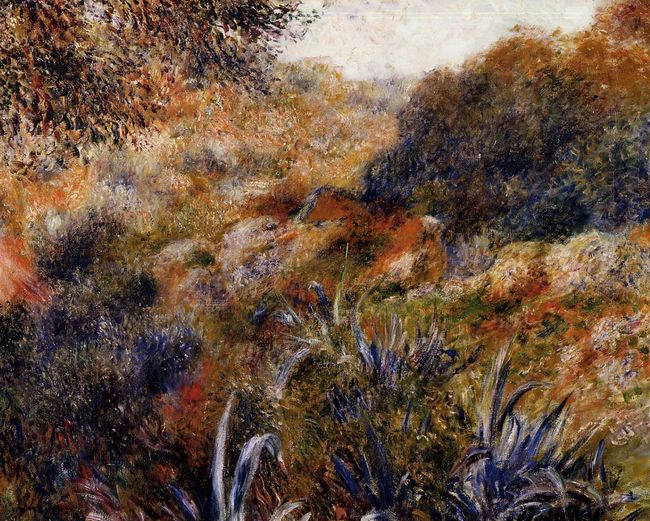 Algerian Landscape The Ravine Of The Wild Women 1881