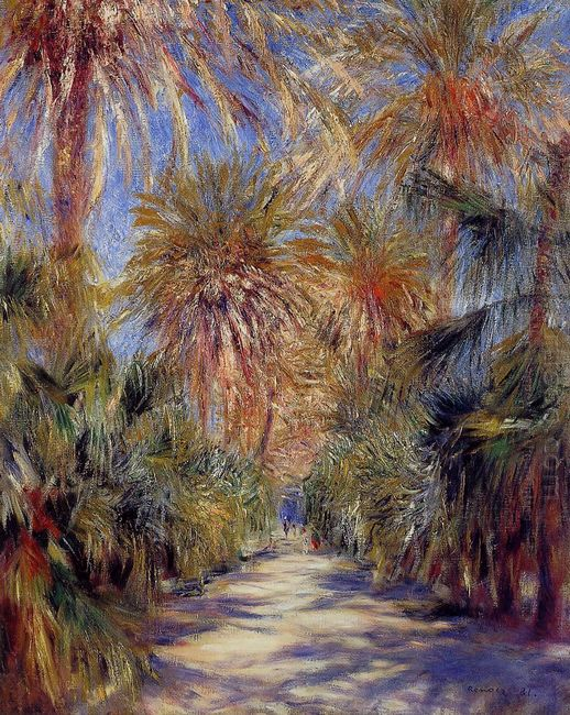 Algiers The Garden Of Essai 1881