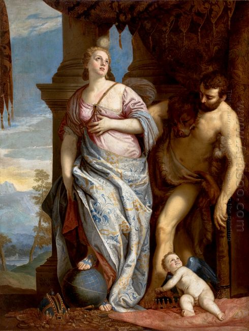 Allegory Of Wisdom And Strength The Choice Of Hercules Or Hercul