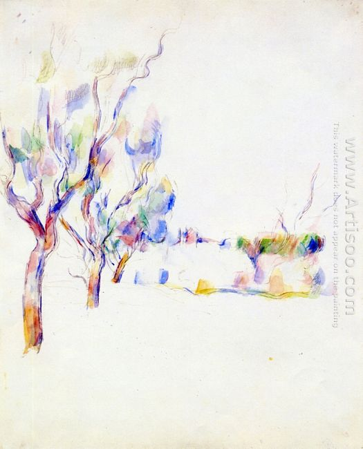 Almond Trees In Provence 1900