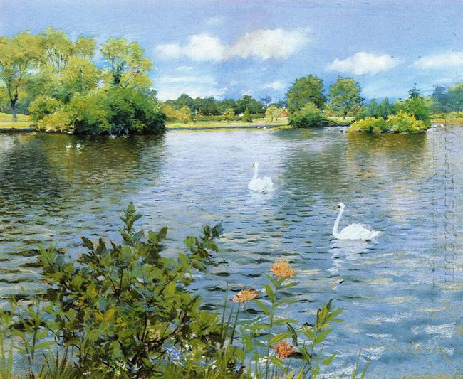 A Long Island Lake