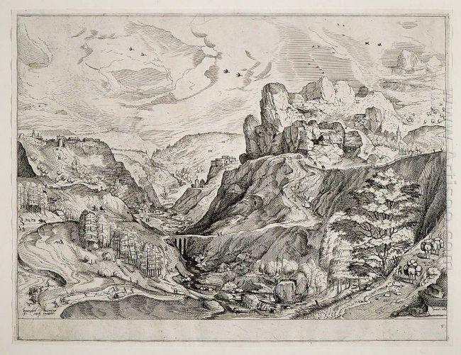 Alpine Landscape 1556
