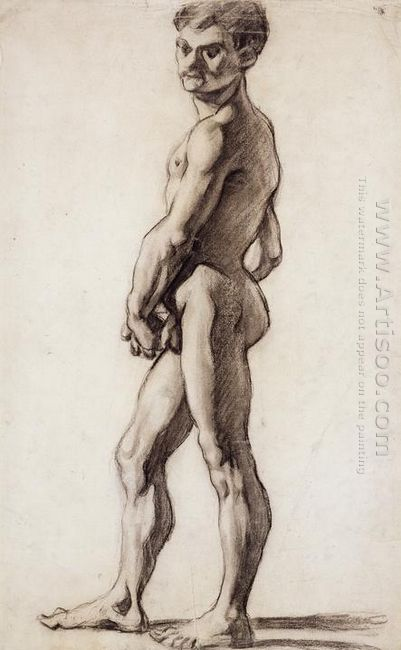 A Male Nude 1863