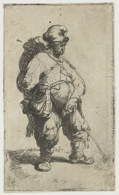 A Man Making Water 1631