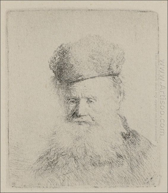 A Man With A Large Beard And A Low Fur Cap 1631