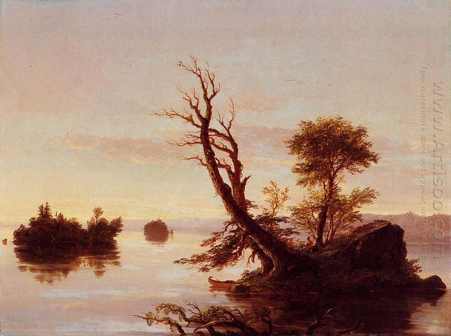 American Lake Scene 1844