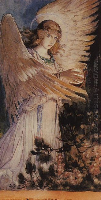 Angel With A Lamp 1896