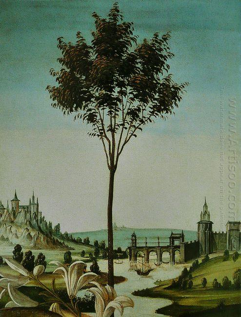 Annunciation Cestello Detail 1490