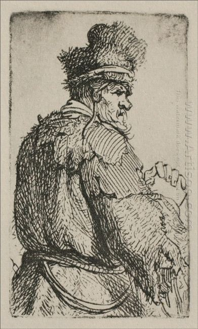 An Old Man Seen From Behind 1631