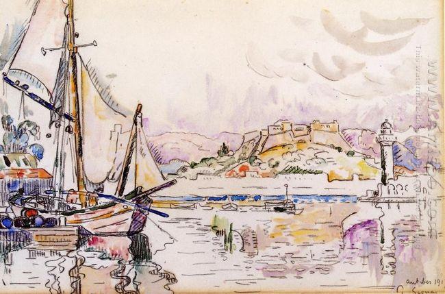 Antibes 1917