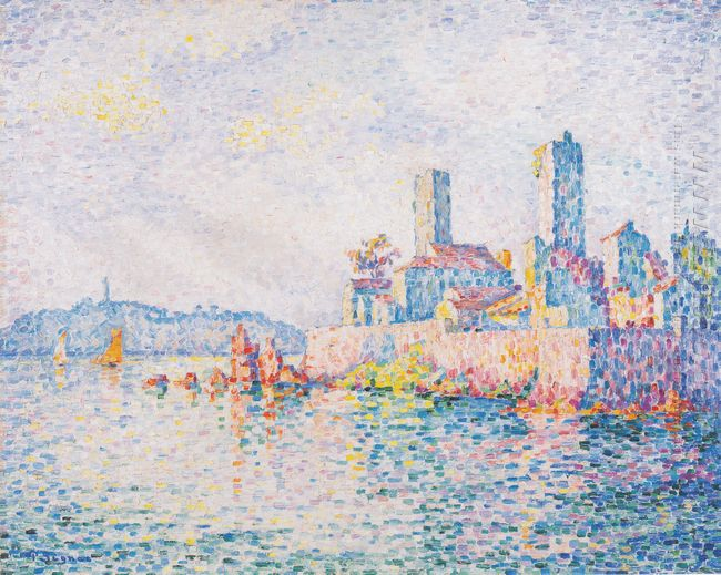 Antibes The Towers 1911
