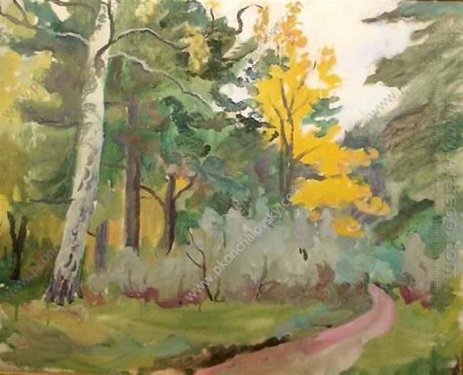 A Path In The Fall 1935