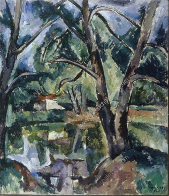 A Pond 1920 1