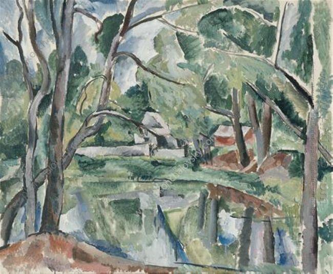 A Pond 1920