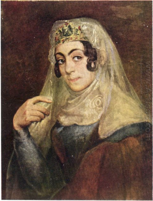 A Portrait Of A Georgian Woman