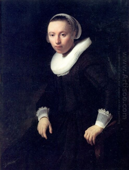 A Portrait Of A Young Woman 1632