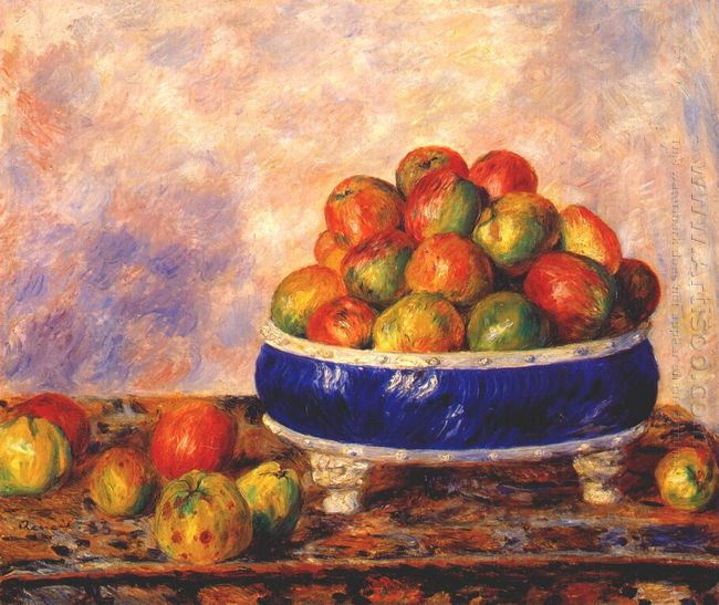 Apples In A Dish 1883