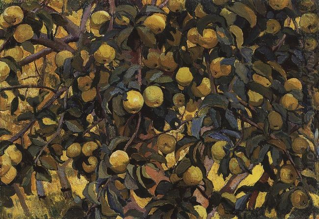 Apples On The Branches 1910