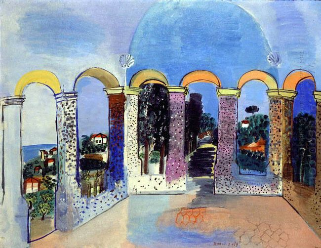 Arcades At Vallauris 1927