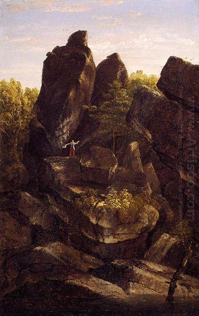 A Rocky Glen In The Shawangunks 1846