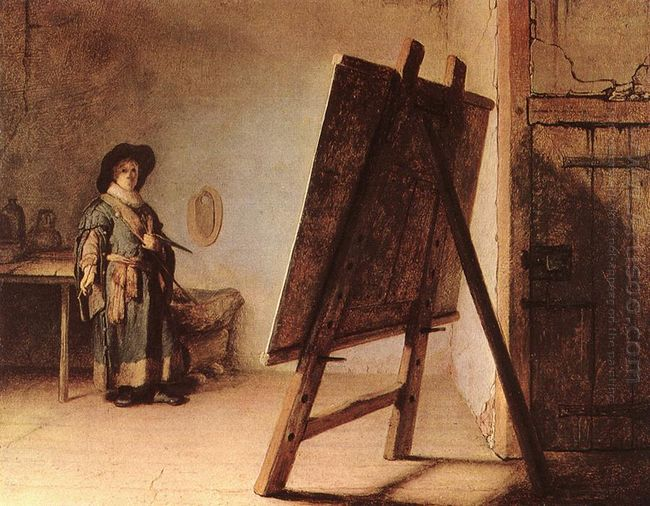 Artist In His Studio 1626
