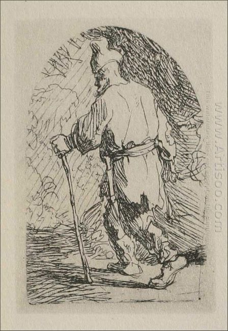A Sketch For A Flight Into Egypt 1632