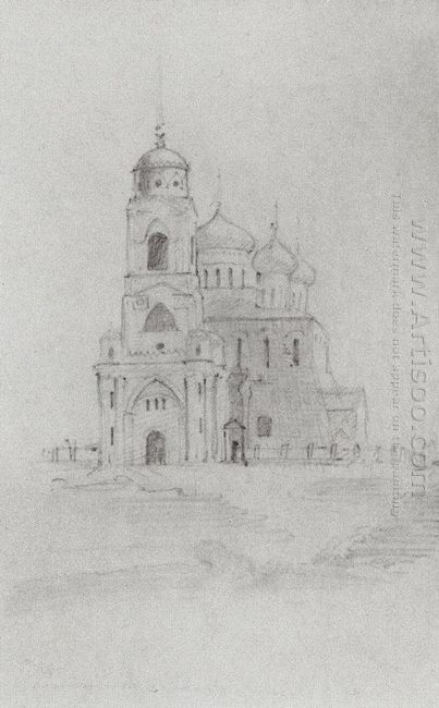 Assumption Cathedral In Vladimir 1860
