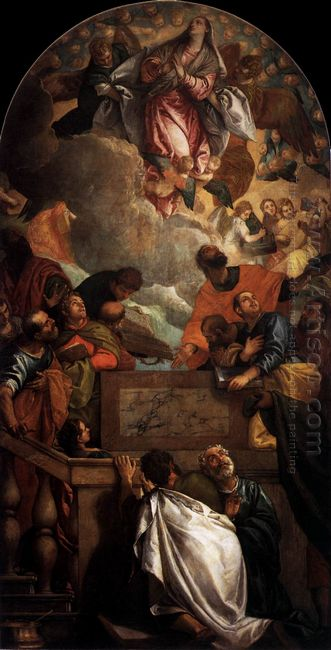 Assumption Of The Virgin 1586