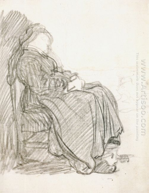A Study Of A Woman Asleep 1630
