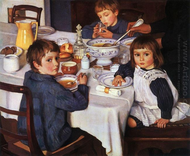 At Breakfast 1914