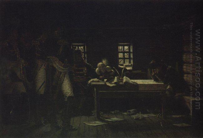 At Gorodnia Breakthrough Or Withdraw 1895