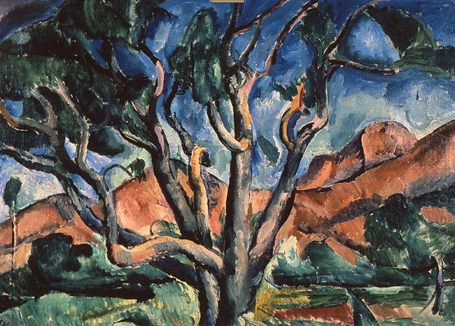 A Tree 1916