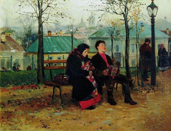 At The Boulevard 1887