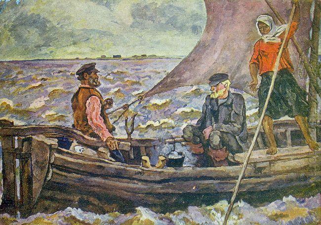 At The Ilmen Lake 1928