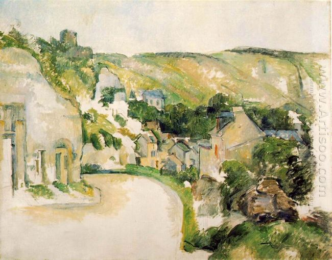 A Turn In The Road At La Roche Guyon 1885