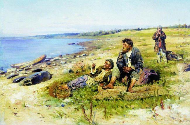 At Volga 1897