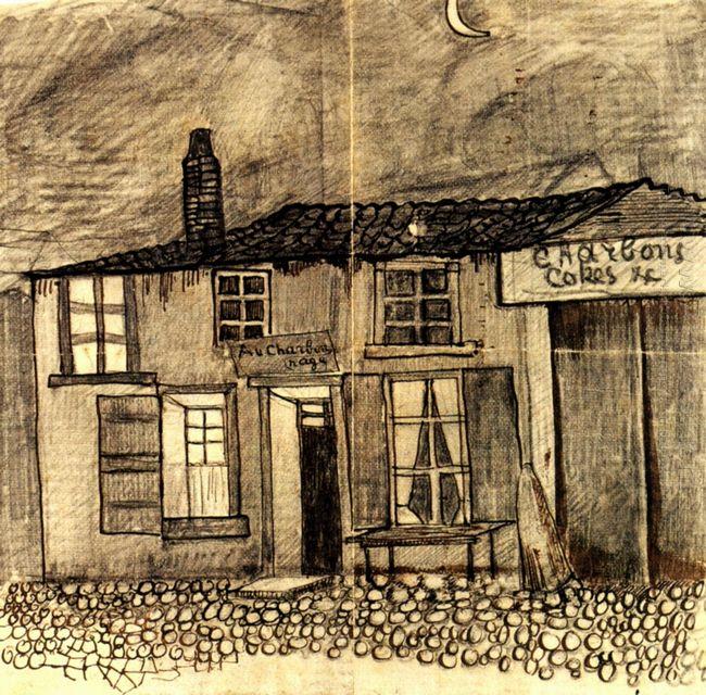 Au Charbonnage Café 1878